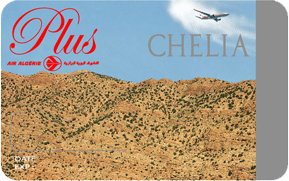 carte fidelité air algerie Carte fidélité Chélia Air Algérie Plus