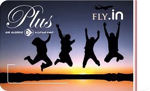 Air Algerie Carte Fly-in