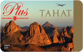 Air Algerie Carte Tahat