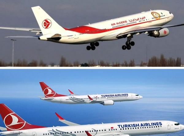 Accord Air Algérie-Turkish Airlines pour le partage des codes de vols
